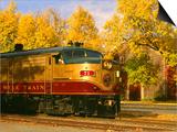 Napa Valley Wine Train Rolls through Rutherford  California  USA
