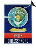 Pasta D'Alessandro Poster