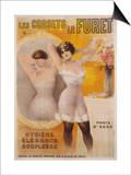 Les Corsets Le Furet Poster