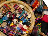 Finger Dolls  Traditional Textiles  Textile Museum  Casa del Tejido  Antigua  Guatemala