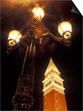 Replica Belltower Outside the Venetian Hotel and Casino  Las Vegas  Nevada  USA