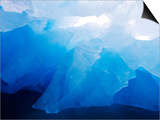 Iceberg Near Monacobreen Glacier in Liefdefjorden Fjord  Spitsbergen Island  Svalbard  Norway