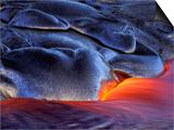 Volcanic Eruption  Volcanoes National Park  Kilauea  Big Island  Hawaii  USA