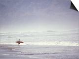 Cocoa Beach Surfer  Florida  USA