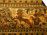 Painted Box  Tomb King Tutankhamun  Valley of the Kings  Egypt