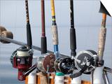 Fishing Poles  Alaska  Usa