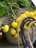 Handbag with Lemons  Positano  Amalfi Coast  Campania  Italy