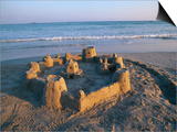 Sandcastle at Beach