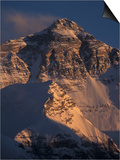 Mt Everest at Sunset From Rongbuk  Tibet
