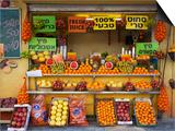 Downtown Fruit Stand  Tel Aviv  Israel