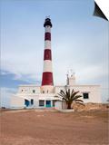 Taguermes Lighthouse  Sidi Mahres Beach  Houmt Souq  Jerba Island  Tunisia