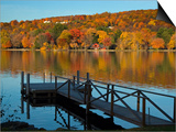 Lake Waramaug  Connecticut  New England  USA