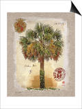 Linen Cabbage Palm Tree