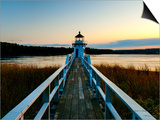 Maine  Doubling Point Lighthouse  USA