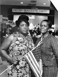 Fannie Lou Hammer and Ella Baker