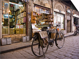 Street Scene in the Old City  Damascus  Syria