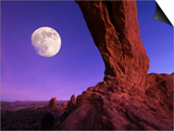 Utah  Arches National Park  North Arch  USA