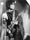 Prince  Engages the Guitar During Concert  1984
