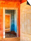 Desert Taking over Mining Ghost-Town of Kolmanskop  Near Luderitz  Southern Namibia  Africa