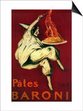Pates Baroni Vintage Poster - Europe