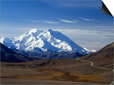 Mount Mckinley  Denali National Park  Alaska  USA