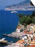 Sorrento  Bay of Naples  Italy