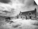 Infrared Image of a Derelict Farmhouse Near Arivruach  Isle of Lewis  Hebrides  Scotland  UK