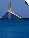 Sunshine Skyway Bridge  Tampa Bay  Saint Petersburg  Florida