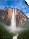 Venezuela  Guayana  Canaima National Park  View of Angel Falls from Mirador Laime
