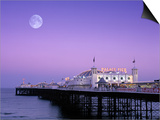 Palace Pier  Brighton  East Sussex  England