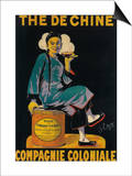 France - The De Chine  Colonial Company Promotional Poster