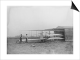 Wilbur & Orville Wright in 2nd powered machine Photograph - Dayton  OH