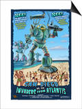 San Diego  California vs The Atlantean Invaders