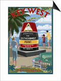 Key West  Florida - Southernmost Point