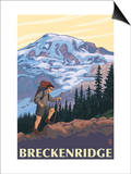 Breckenridge  Colorado - Mountain Hiker