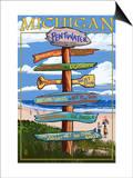 Pentwater  Michigan - Sign Destinations