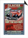 Glacier National Park - Red Jammer