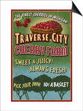 Traverse City  Michigan - Cherry Farm