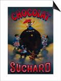 Chocolat Suchard Vintage Poster - Europe
