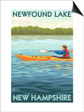 Newfound Lake  New Hampshire - Kayak Scene