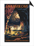 Lava River Cave - Lava Lands  Oregon