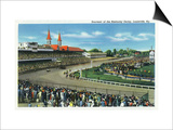 Louisville  Kentucky - General View of Crowds at the Kentucky Derby  c1939