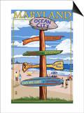 Ocean City  Maryland - Sign Destinations