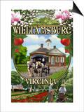 Williamsburg  Virginia - Montage Scenes