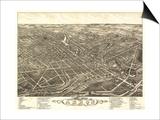 Akron  Ohio - Panoramic Map No 2 - Akron  OH