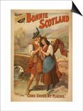 Sidney R Ellis' Bonnie Scotland Scottish Play Poster No2