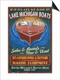 Lake Michigan  Michigan - Boat Shop