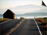 Ebey Road Near Ebey's Landing  Whidbey Island  Washington