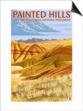 Painted Hills - John Day Fossil Beds  Oregon