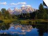 Teton Range  Grand Teton National Park  USA